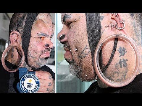 Kala Kaiwi Claims Guinness World Record For 4.3 Inches Stretch Earlobes