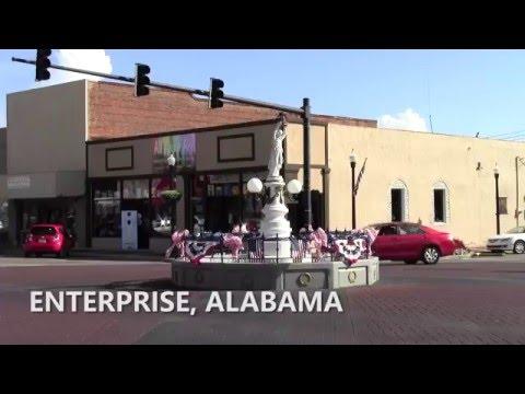 Boll Weevil Monument - Enterprise, Alabama