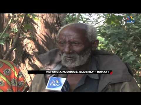 Nakuru's tree man: Homeless elderly man has lived in a tree for 2 years