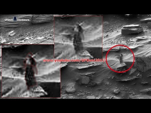 A Strange Woman Walking On Mars