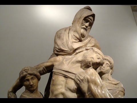 The Deposition by Michelangelo, Museum of the Cathedral, Florence, Italy, Europe