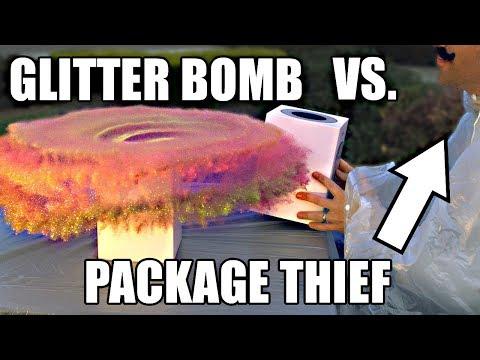 Glitter Bomb 1.0 vs Porch Pirates