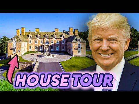 Donald Trump | House Tour | Mar-A-Lago, Seven Springs & More