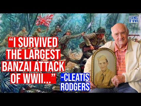 100 Year Old Army Veteran Describes the Largest Japanese Banzai Charge Ever! (Battle of Saipan)