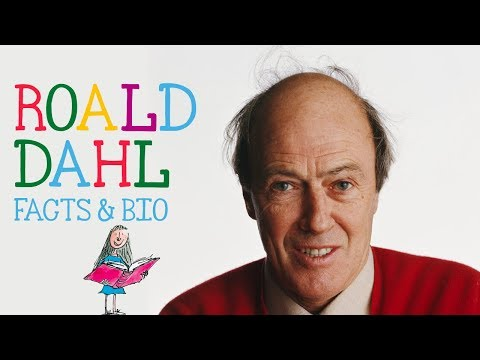 Roald Dahl Facts, Information and Biography for Kids