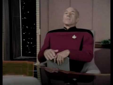 Star Trek - Picard Has iPad