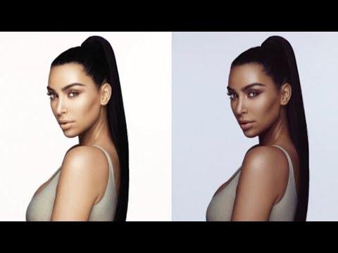 Kim Kardashian Accused of Blackface in New Beauty Line Promo Pic
