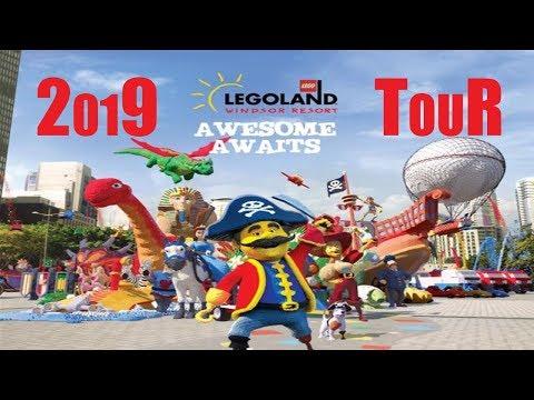 *NEW* 2019 // LEGOLAND WINDSOR // UK // FULL TOUR // NINJAGO