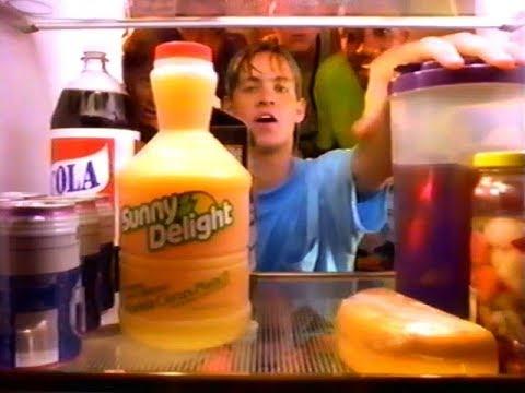 "Sunny Delight ""Purple Stuff"" Commercial (1991)"