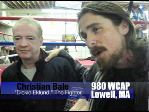 """Wahlberg/Bale in Lowell, MA for """"The Fighter"""" photo shoot"""