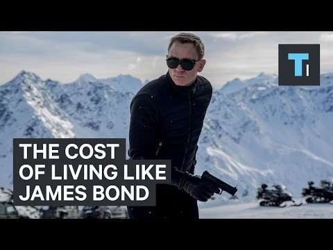Cost of James Bond's lifestyle