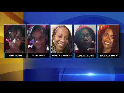 Mother, daughter charged in murder of five family members
