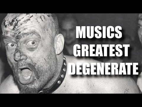 The Scariest Rockstar of All Time (GG Allin)