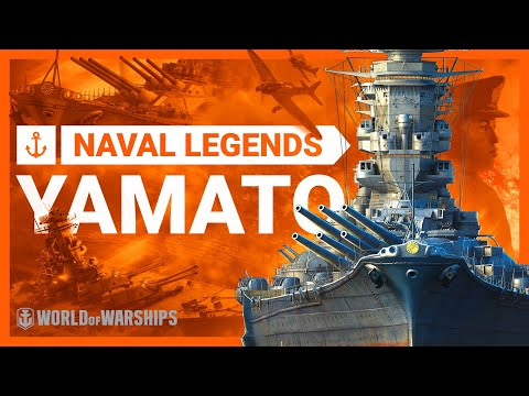 Naval Legends: Yamato. The largest battleship ever built | World of Warships