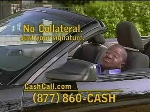 Gary Coleman for cashcall.com, this time he can't drive.