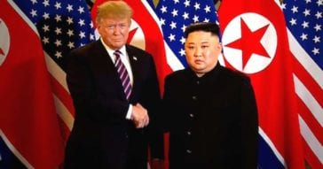 Kim Jong-un and Trump