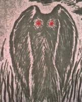 Mothman Drawing