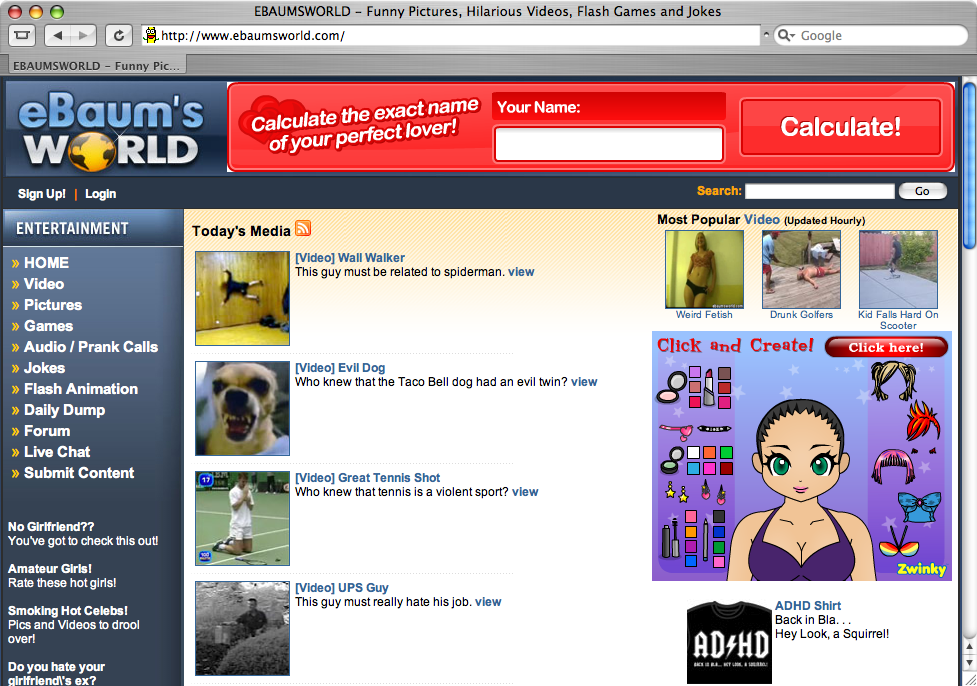 Top 10 Boredom Busting Websites Listverse