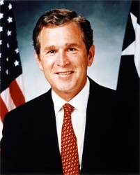 George-Bush-Jr-Photograph-C10042275