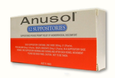 69-292-Anusol Suppositories