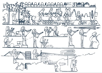 Ancient Egypt Rope Manufacture-1