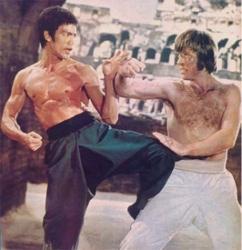 Bruce Lee Beats Up Chuck Norris