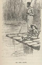 Huck-And-Jim-On-Raft
