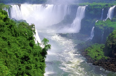 Argentina - Iguazu Falls - Tight From Above