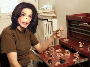 Michael Jackson Surgery  Photo