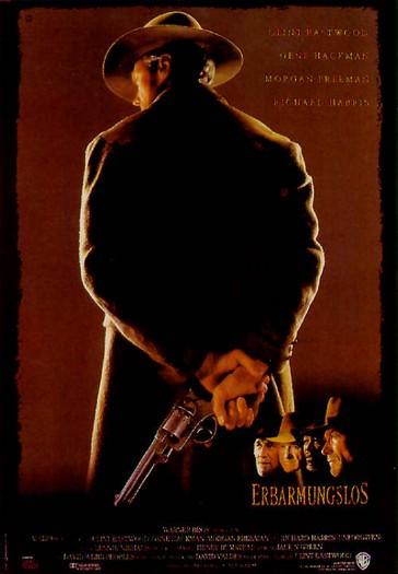 Unforgiven Poster Top 10 Westerns - List...