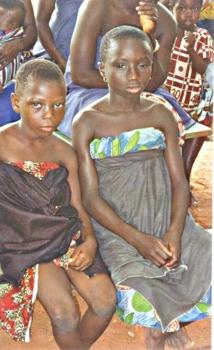 Young Trokosi Slaves