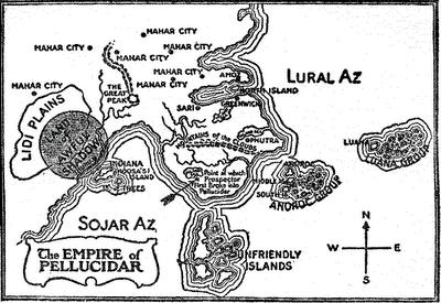 Pellucidar-Map