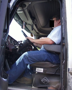 Truck Driver Posture