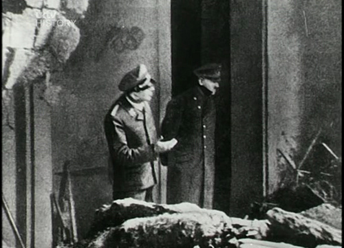 post mortem hitler