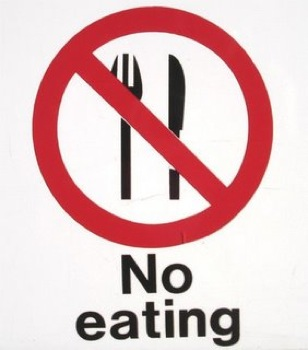 No Eating