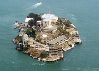 Alcatraz Aerial