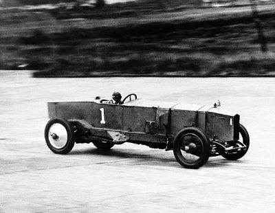 Jg Parry Thomas In Leyland July 8 1925  Brooklands  120 Mph