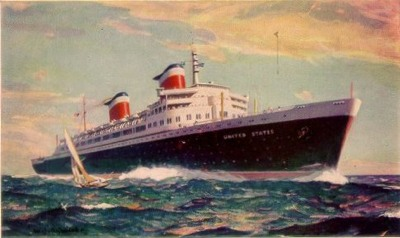 Ss United States Postcard