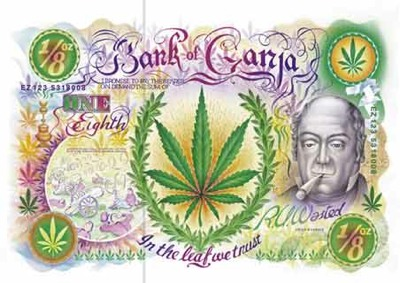 Bank-Of-Ganja-Weed-Poster