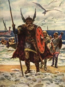 Как викинги делали доски - 0