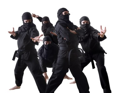 top 10 myths about ninjas listverse. Black Bedroom Furniture Sets. Home Design Ideas