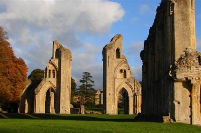 Glastonbury Abbey Ruins Iv  Medium .Jpg