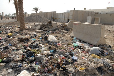 Garbage Slums Of Fallujah