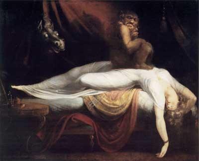 Fuseli Nightmare-1781