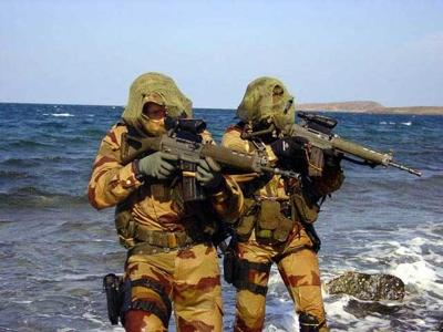 French Navy Commandos