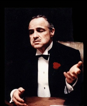 Marlon-Brando Godfather-Johnny-Depp-Tim-Burton-I-Knew-It-Was-You