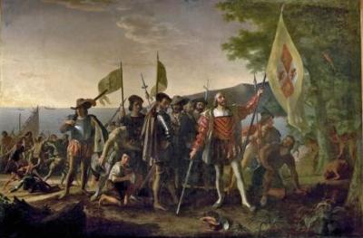 Landing Of Columbus 1 450