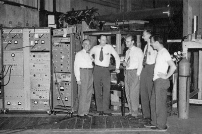 Losalamosanitprotonequipment Segre 1955