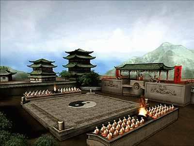 Shangtsungscourtyard