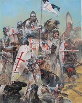 Knights Templar Battle